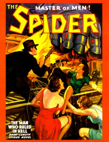 The Spider (#46): The Man Who Ruled in Hell (1891729039) by Grant Stockbridge