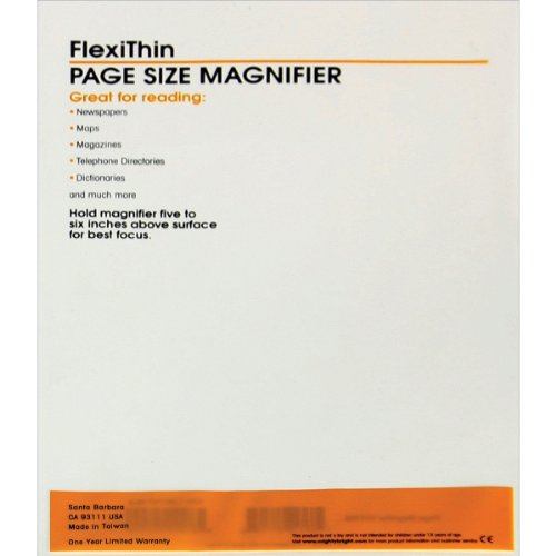 9781891747458: Might Bright Flexithink Magnifier Page (Book Lights)