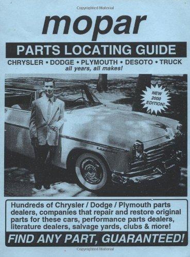 Mopar / Chrysler / Dodge / Plymouth: Adam Gimbel