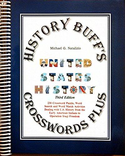 9781891769405: History Buff's Crosswords Plus United States History