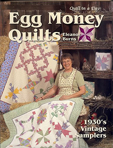 Egg Money Quilts: 1930's Vintage Samplers: Burns, Eleanor