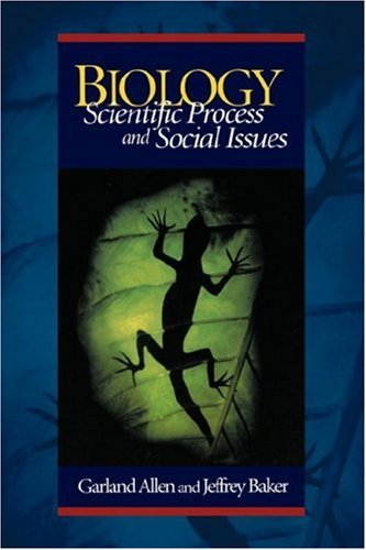 9781891786099: Biology: Scientific Process and Social Issues
