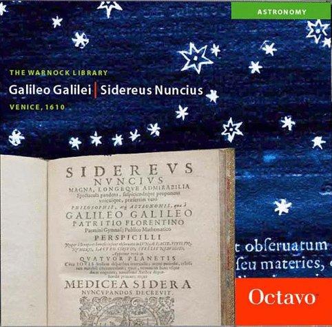 Sidereus Nuncius (Latin Edition): Galileo Galilei