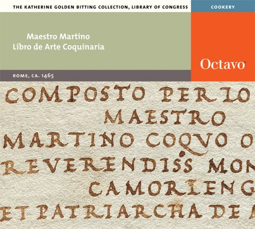 Libro de Arte Coquinaria: Maestro Martino
