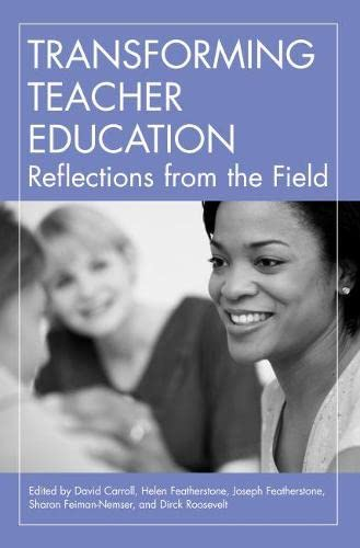 9781891792335: Transforming Teacher Education: Reflections from the Field