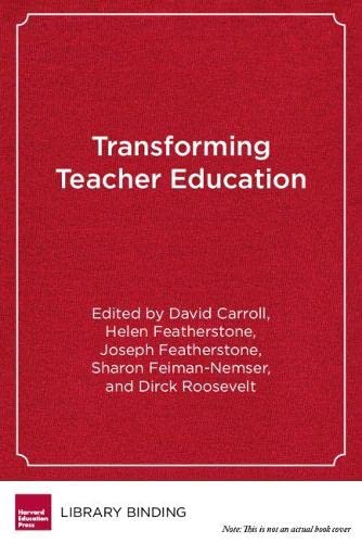 9781891792342: Transforming Teacher Education: Reflections from the Field