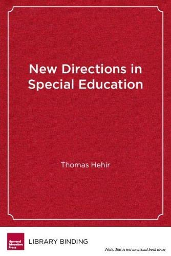 9781891792625: New Directions in Special Education: Eliminating Ableism in Policy and Practice