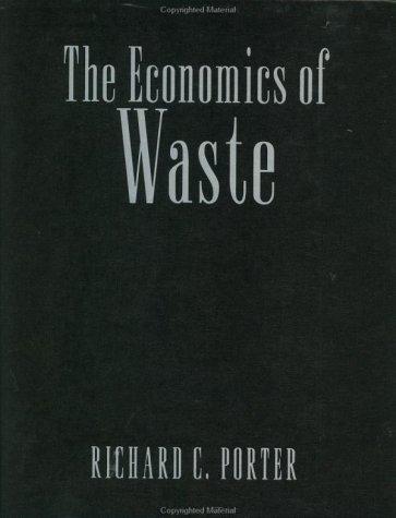 9781891853425: The Economics of Waste (RFF Press)