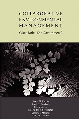 9781891853821: Collaborative Environmental Management