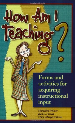 9781891859212: How Am I Teaching?: Forms & Activities for Acquiring Instructional Input