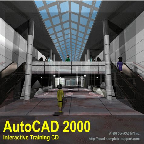 9781891873089: AutoCAD 2000 Interactive Training CD (Complete Support Training CD)