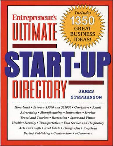 9781891984334: Ultimate Start-Up Directory