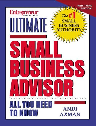 9781891984464: Ultimate Small Business Advisor (with CD)