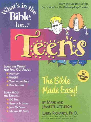 9781892016058: What's in the Bible for ....Teens