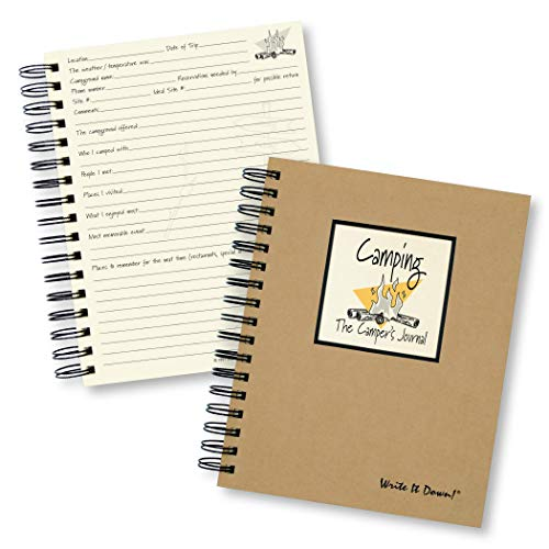 9781892033017: Camping, The Camper's Journal (Natural Brown) (Write It Down)