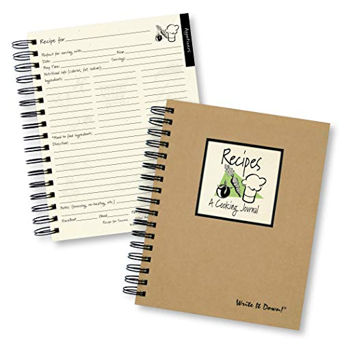 9781892033321: Recipes - A Cooking Journal