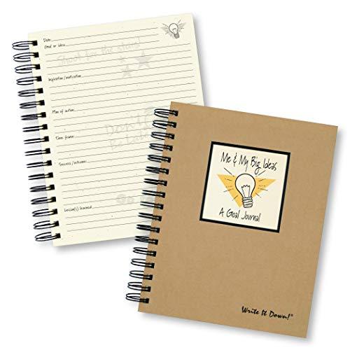 9781892033611: Me & My Big Ideas, A Goal Journal (Natural Brown)