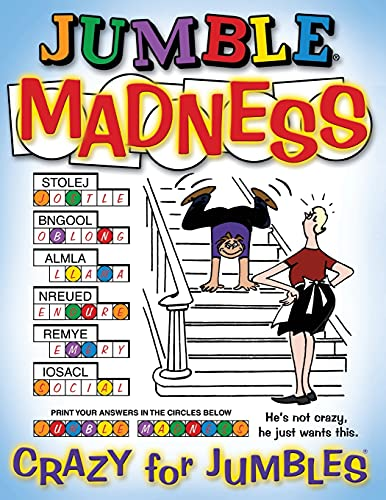 9781892049247: Jumble® Madness: Crazy for Jumbles®