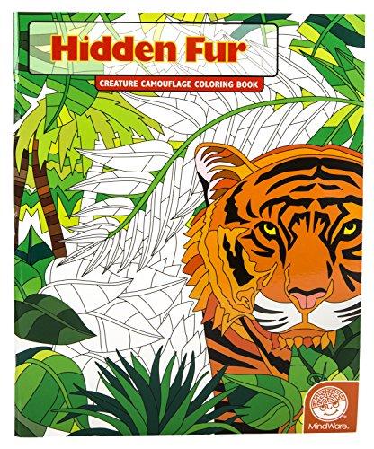 Hidden Fur (Creature Camouflage Coloring Book)