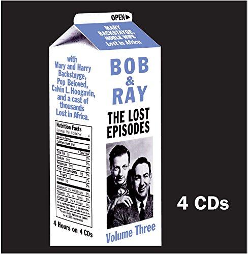 9781892091420: Bob & Ray: The Lost Episodes, Volume 3