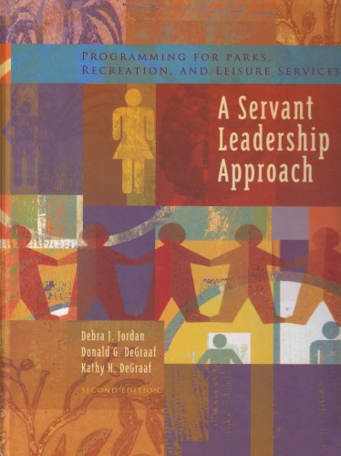 9781892132512: Programming For Parks, Recreation, And Leisure Services: A Servant Leadership Approach
