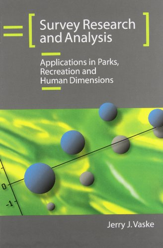 9781892132796: Survey Research and Analysis: Applications in Parks, Recreation and Human Dimensions