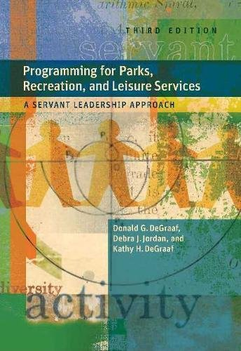 9781892132871: Programming for Parks, Recreation, and Leisure Services: A Servant Leadership Approach