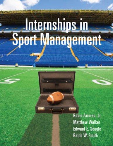 9781892132918: Internships in Sport Management