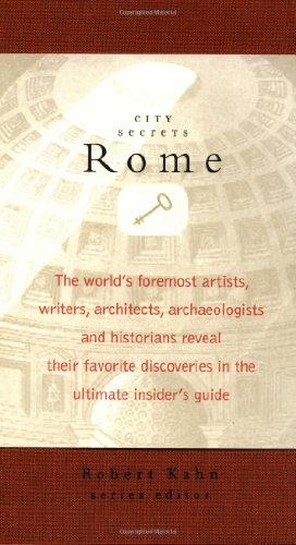 9781892145048: City Secrets: Rome