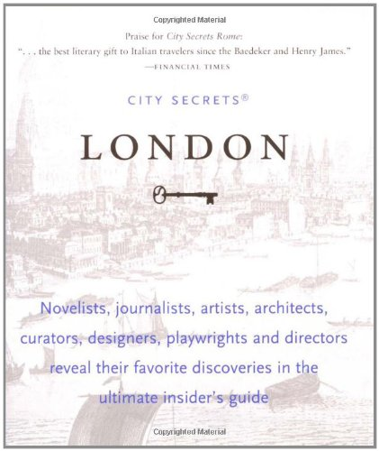 9781892145079: City Secrets: London