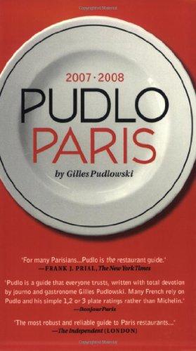 9781892145482: Pudlo Paris 2007-2008: A Restaurant Guide