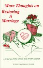 9781892230010: More Thoughts on Restoring A Marriage