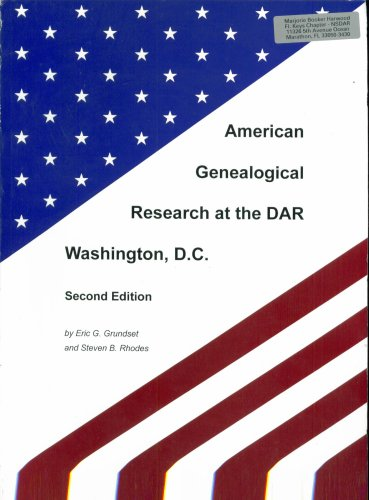9781892237088: American Genealogical Research at the DAR Washington, D.C. Second Edition.
