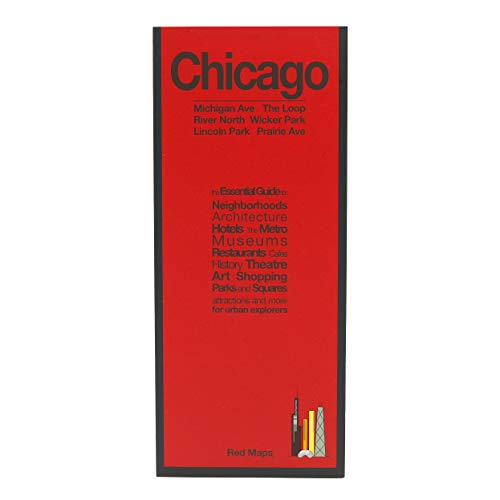 9781892238856: Red Map Chicago City Travel Guide