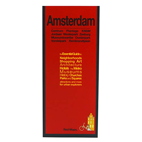 9781892238917: Amsterdam Map and City Guide