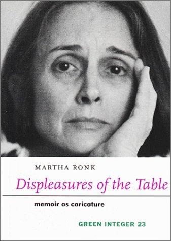 9781892295446: Displeasures of the Table (Green Integer)