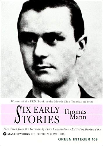 9781892295743: Six Early Stories (Green Integer)