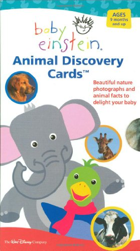 9781892309808: Baby Einstein: Animal Discovery Cards : Beautiful Nature Photographs and Animal Facts to Delight Your Baby