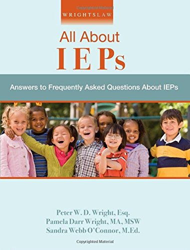 Wrightslaw: All About IEPs: Sandra Webb O'Connor,
