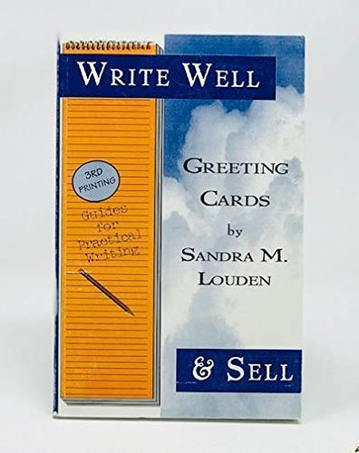 9781892356000: Write Well & Sell: Greeting Cards