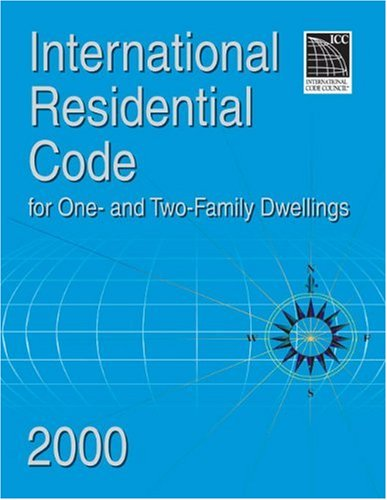 9781892395177: International Residential Code 2000 for One & Two Family Dwellings (International Code Council Series)