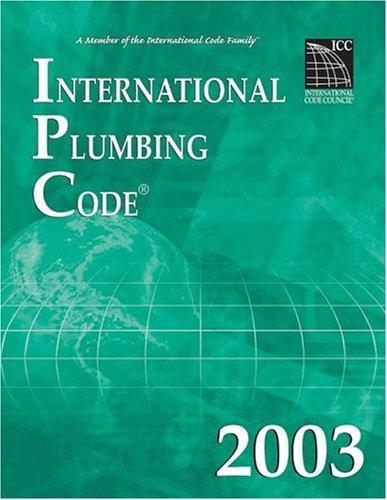 9781892395627: International Plumbing Code 2003 (International Code Council Series)