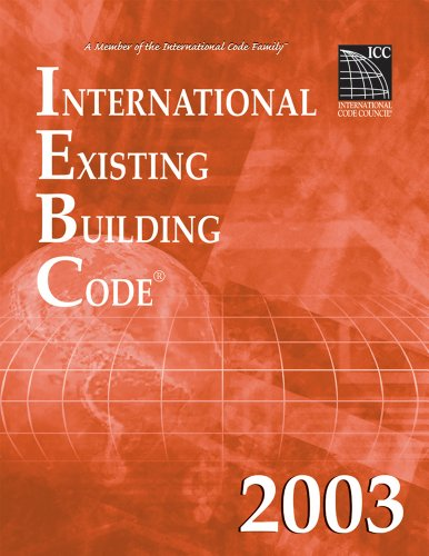 9781892395733: 2003 International Existing Building Code (Softbound) (International Code Council Series)