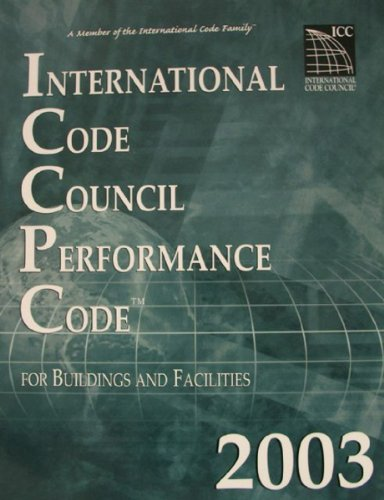 Icc Performance Code For Buildings And Facilities: n/a