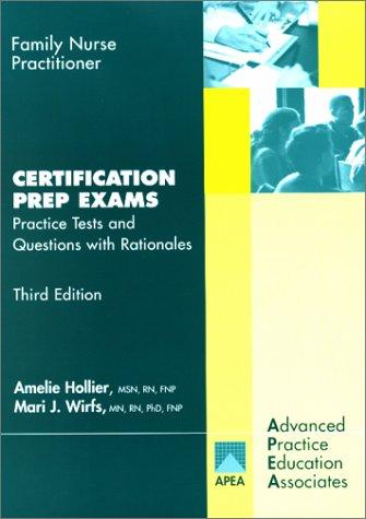 9781892418098: Family Nurse Practitioner: Certification Prep Exams