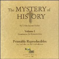 9781892427250: Mystery of History Volume 1 Printable Reproducibles CD Rom