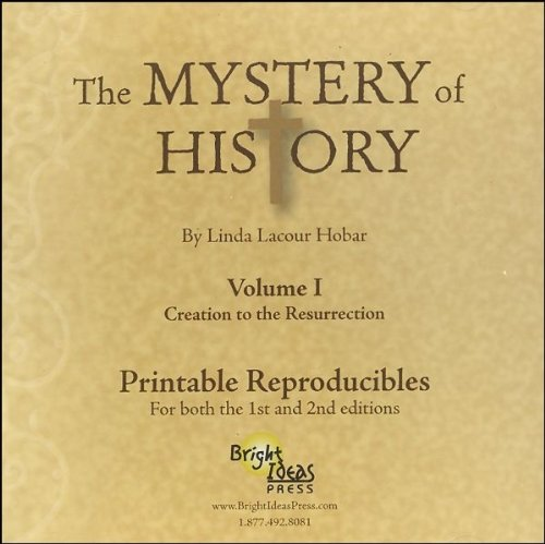 Mystery of History Volume I PRINTABLE REPRODUCIBLE CD