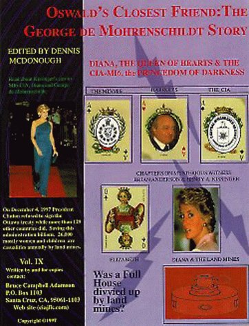 Diana The Queen of Hearts: CIA/MI6 the Princedom of Darkness. STORY: Sequel to volume Five (V) (1892501120) by Bruce Campbell Adamson; Bruce C. Adamson