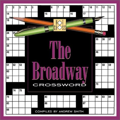 Broadway Crossword (189251480X) by Hill Street Press