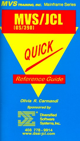 9781892559005: OS/390 MVS/JCL Quick Reference Guide (Mainframe Series) (Mainframe Technical Series)